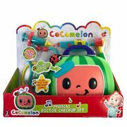 Cocomelon Musical Doctor Check Up Case New 4 Play Pieces