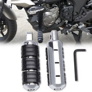 Motorcycle Highway Foot Pegs Rests Pedals For Kawasaki Versys 1000 650 250 Dm