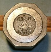 Antique Odd Fellows District Deputy Grand Patriarch Medal Stamping Die Mc Lilley