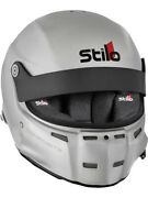 Stilo Helmet St5 Gt Full Face Head And Neck Silver 3x-large Aa0700af2t64