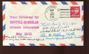 Astronaut Donald Williams And 3 Other Applicant Signed 1977 Dress Rehearsal Cover