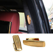 For Range Rover L405 13-20 Golden Zinc Alloy Sv Clothes And Hat Hook Cover Trim