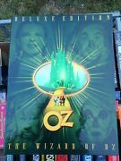 The Wizard Of Oz Dvd- Special Deluxe Edition Box Set-dvd-movie Posters-script