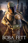 Star Wars Boba Fett Premium Format By Sideshow Collectibles Collectors Edition