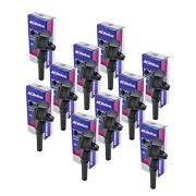 Acdelco Bs2002 F523 Ignition Coil Set Of 10 Dg508 For Ford V10-6.8l 1997-2013