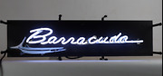 Barracuda Neon Sign / Chrysler Neons / Chrysler Signs / Barracuda Signgas And Oil