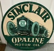Sinclair Signs / Sinclair Opaline Signs / Gas Ads / Petro Signs / Gas And Oil