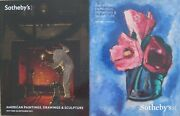 2 Sothebyand039s American Paintings Drawings And Sculpture Catalogs New York 2012 2016