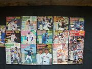 16 Baseball Digest Magazines, 1984 To 1987 - Ozzie Smith, Bruce Sutter, J Morris