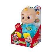 Cocomelon Musical Bedtime Jj Doll With Plush Tummy And Roto Head Ready To Ship