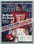 Si Sports Illustrated August 12 2002 So Good Itand039s Scary Tommie Harris Ou Vg