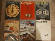 1957 Playboy Magazines Complete Year Rare Find 12 Issues