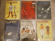 1959 Playboy Magazines Complete Year Rare Find 12 Issues