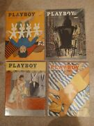 1955 Playboy Magazines 9 Different Issues Rare Find 9 Issues