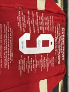 Gordie Howe Career Jerseys Autographed Jersey Special Edition 8 Of 9