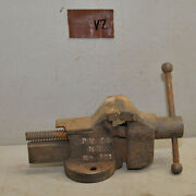 Rare Prentiss 161 2 1/2 Jaw Bench Vise And Anvil Jewelers Collectible Tool V2