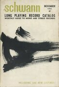 Long Playing Record Catalog. Monthly Guide To Mono And Stereo Records.