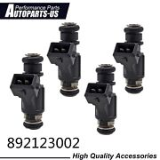 New 4 Pack Fuel Injector 892123002 Fit For Mercury 30 Thru 60 Hp Efi 2002 - 2010