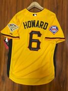 Ryan Howard Signed 2006 1st All Star Game Batting Jersey Inscr. Phillies Rare