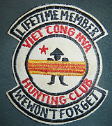 Patch - Lifetime Member - Vc Hunting Club - We Wonand039t Forget - Vietnam War - 0411