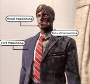 Hot Toys Mms 546 Batman Dark Knight Harvey Dent Two Face 1/6 Figure Special One