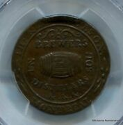 Lower Canada Molson Halfpenny Lc-16a3 Pcgs Xf45 John Temple Collection Inv 3476