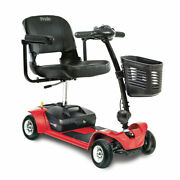 Pride Mobility Go-go Ultra X 4-wheel Electric Battery Travel Scooter Red New