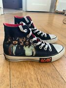 Converse All Star Ac/dc Highway To Hell Size 4 1/2