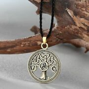 Tree Of Life Knot Necklaces Retro Pendant Necklace Vintage Chokers Menand039s Jewelry