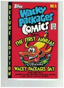 2013 Wacky Packages Day Comic Book 1st Annual Wacky Packages Day Promotion
