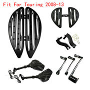 Floorboard Foot Peg Bracket Mirror Shifter Lever Brake Arm Fit For Touring 08-13