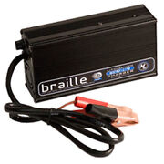 Braille Battery 1236l Lithium Ion Battery Charger, 12 Volt, 6 Amp