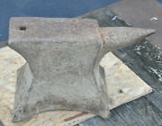 Antique Blacksmith Colonial 1700s Anvil 243 Lbs- Local Pick Up 17003