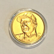 The Mickey Mantle Bronze Medallion Highland Mint Collection Coin