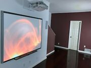 Interactive Smart Board Sb660 And Epson Short Throw Projector Powerlite 475w_