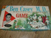 Ben Casey M.d. Board Game 1961 Unplayed And Complete By Transogram