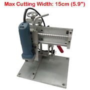 5.9 Electric Bending Slot Cutting Machine Metal Channel Letters Electric Cutter