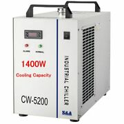 Cw-5200dg 6l Industrial Water Chiller For One 130w Or 150w Co2 Glass Laser Tube