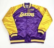 Mitchell And Ness Los Angeles Lakers Satin Jacket Men's 2xl Nba Finals 2000