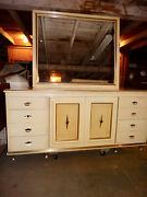 1960 Chest Or Buffet By American Of Martinsville In Cream Lacquer