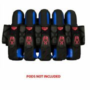 Hk Army Magtek Paintball Harness Magnet Latch Pack 5+4 Red And Black