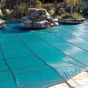 Gli Original Mesh 14and039 X 28and039 Rectangle Inground Pool Safety Cover Green 12 Yr