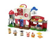 Fisher-price Little People Caring For Animals Farm Smart Stages New Fast Ship