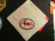 Ajapeu 33 Oval Patch On White Green And Red Neckerchief Cov1 1
