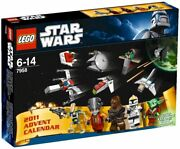 Lego Star Wars Advent Calendar Christmas Minifigs Fighters 7958 Japan