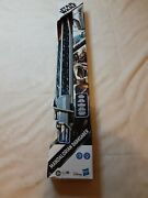 Star Wars Mandalorian Darksaber Lightsaber With Electronic Lights And Sounds