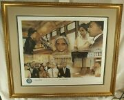 Rosa Parks Civil Right Activist Signed And039and039the Mentorand039and039 Autograph Framed Display