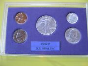 1942 P Us Mint Set Brilliant Uncirculated
