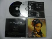 Hilary Duff - With Love Rare 3 Track Promo Only Single Cd + Dvd Set