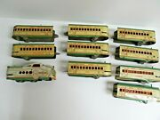 Marx M10005 Union Pacific Engine With 9 Passenger Cars